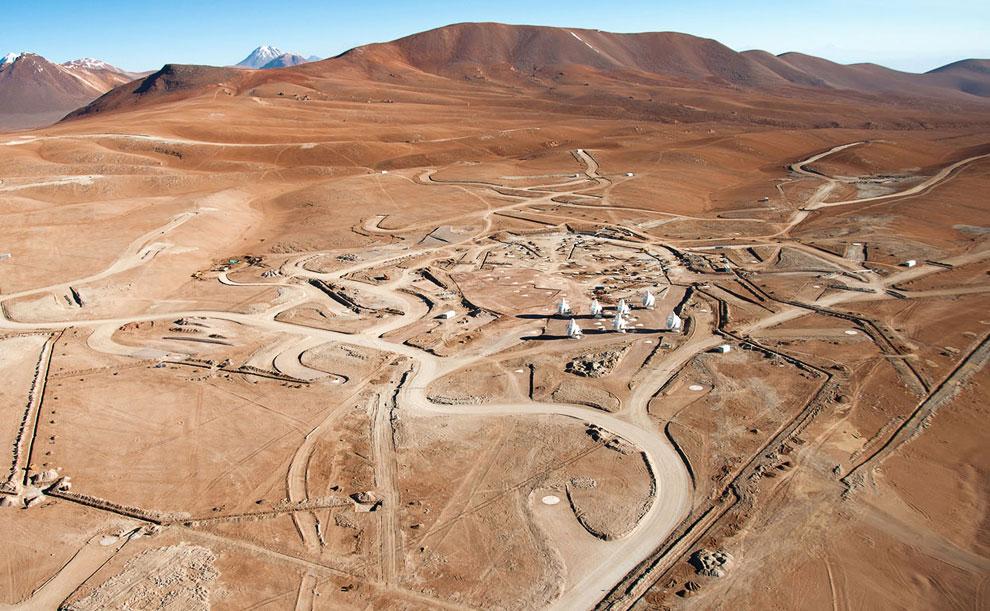 Место, где в 2013 году планируется завершить проект под названием ALMA