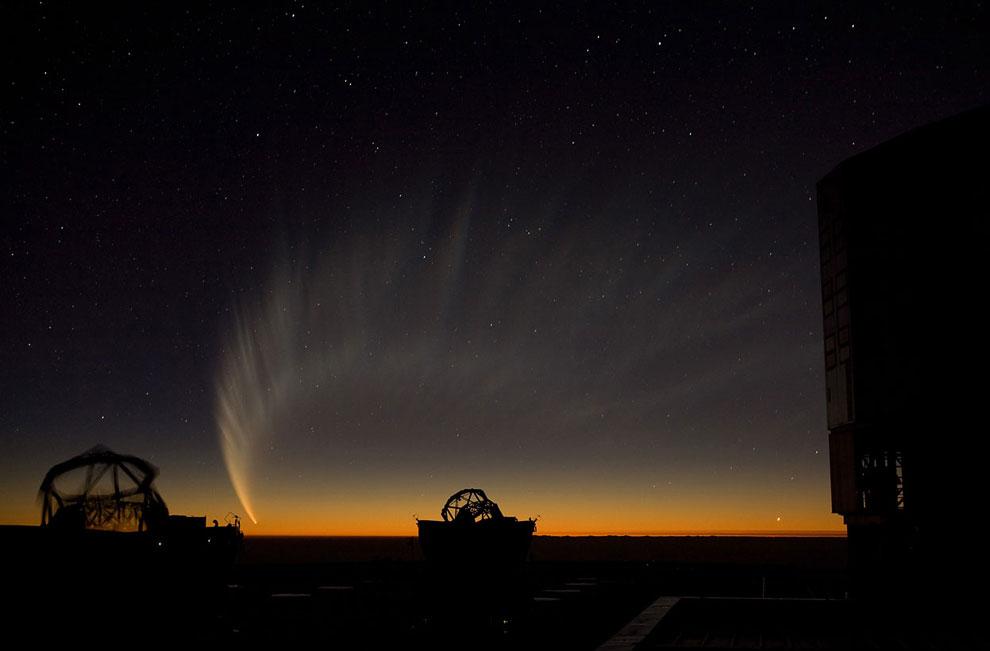 Хвост кометы Макнота