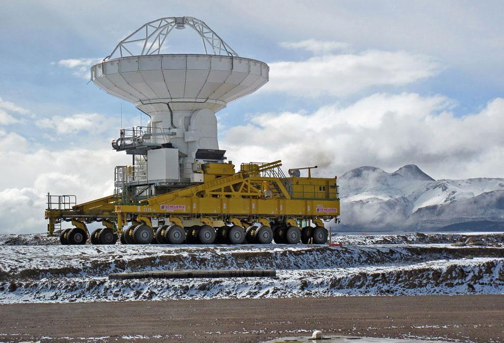 Высоко в чилийских Андах, высота — 5 000 метров над уровнем моря