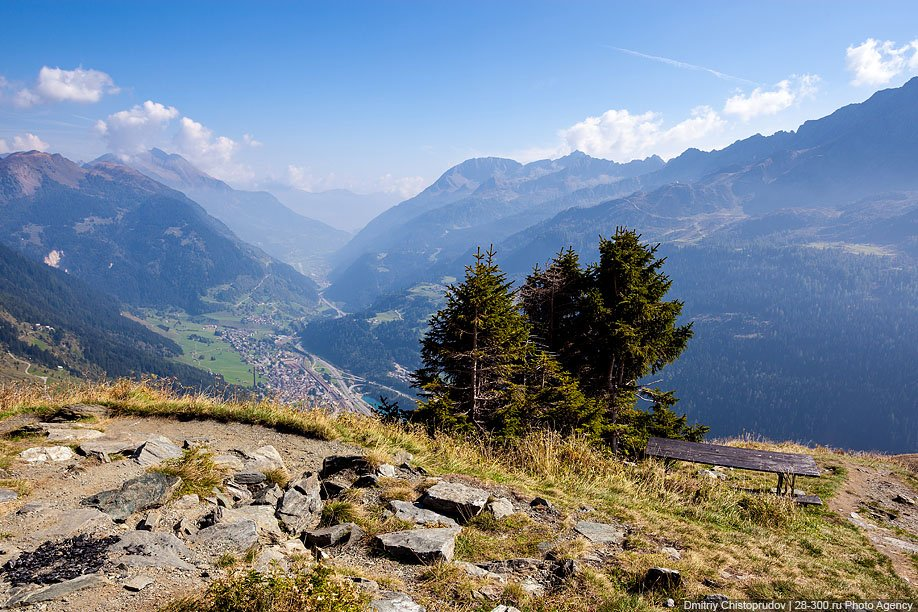Горный перевал Сен-Готард