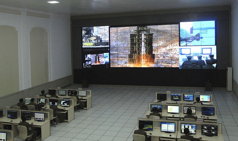 Начало старта ракеты «Млечный путь» 12 декабря 2012