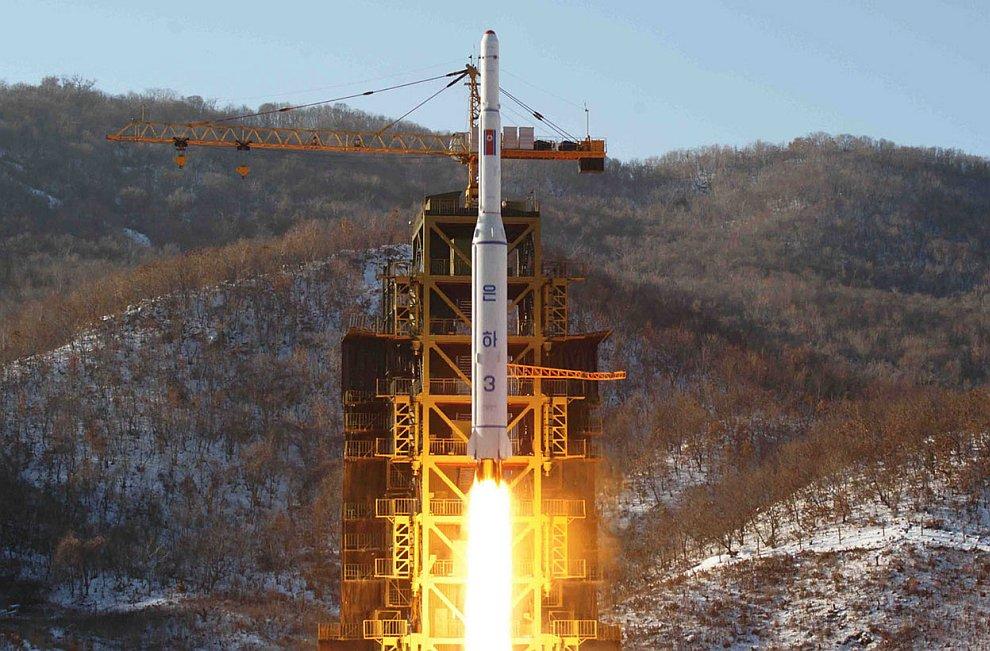 Старт ракеты «Млечный путь» 12 декабря 2012