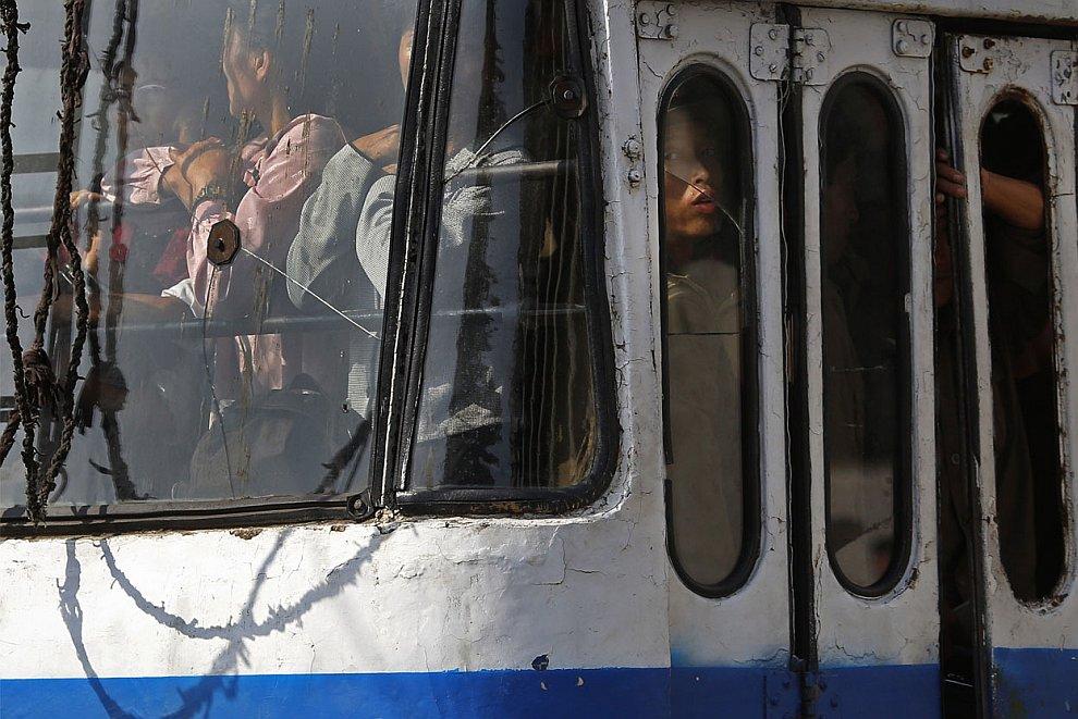 Час пик в Пхеньяне