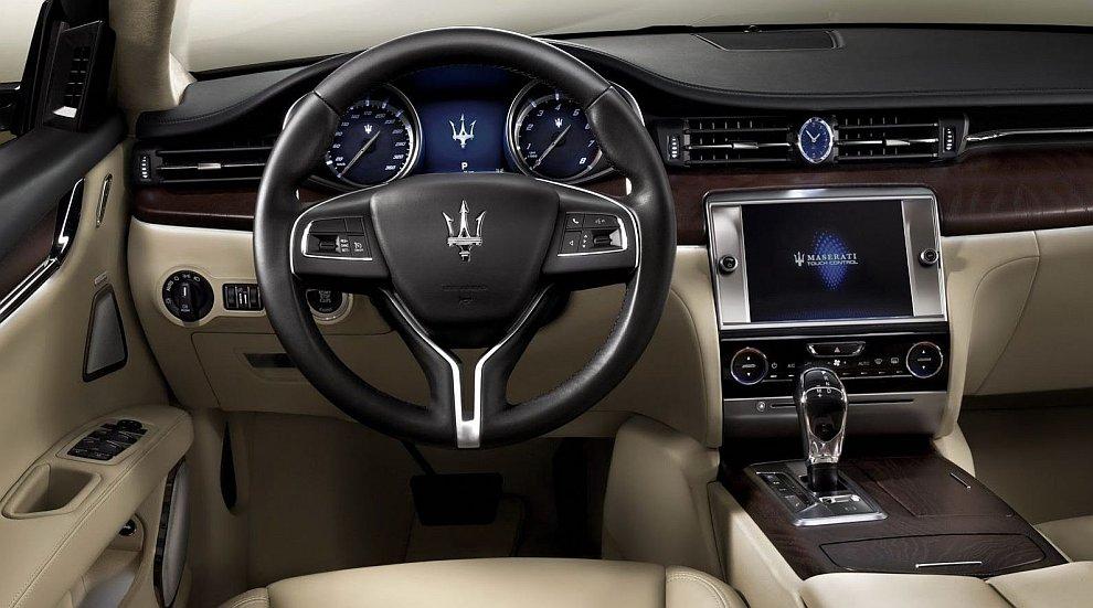 Седан Maserati Quattroporte