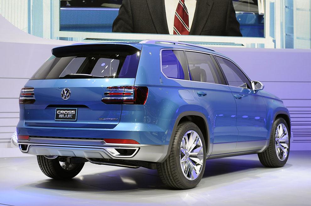 Внедорожник Volkswagen CrossBlue