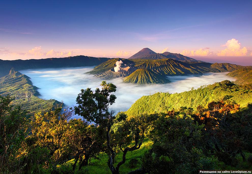 Путешествие к вулкану Бромо