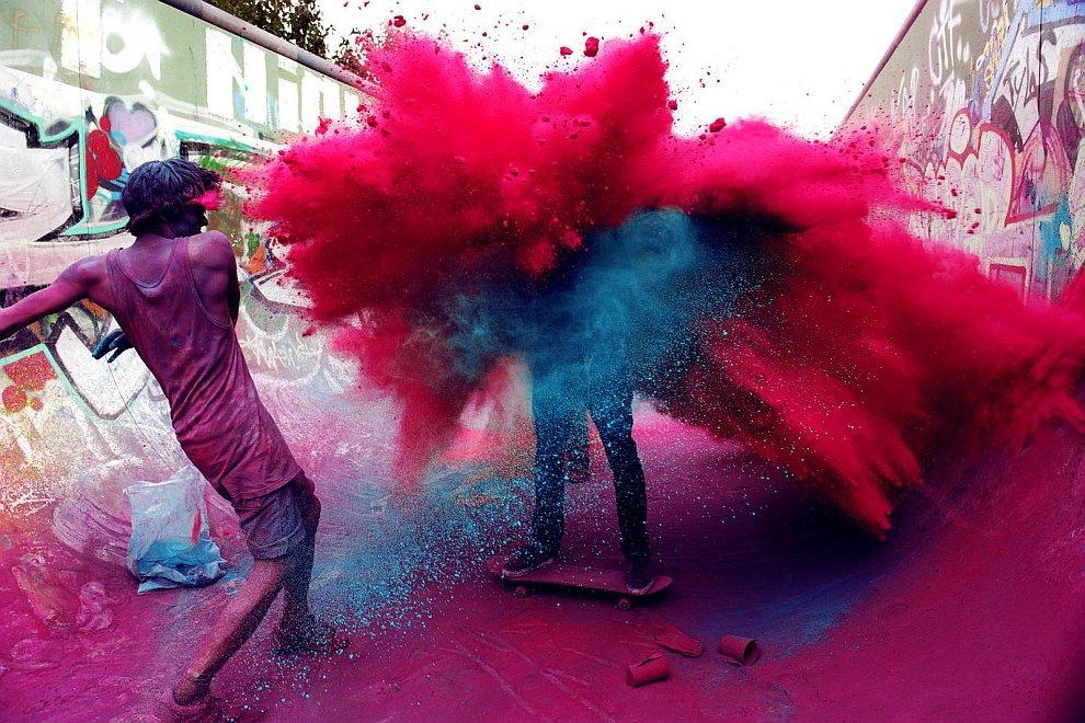Фестиваль Холи, Индия
