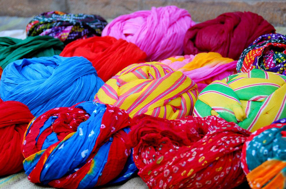 Разноцветные тюрбаны