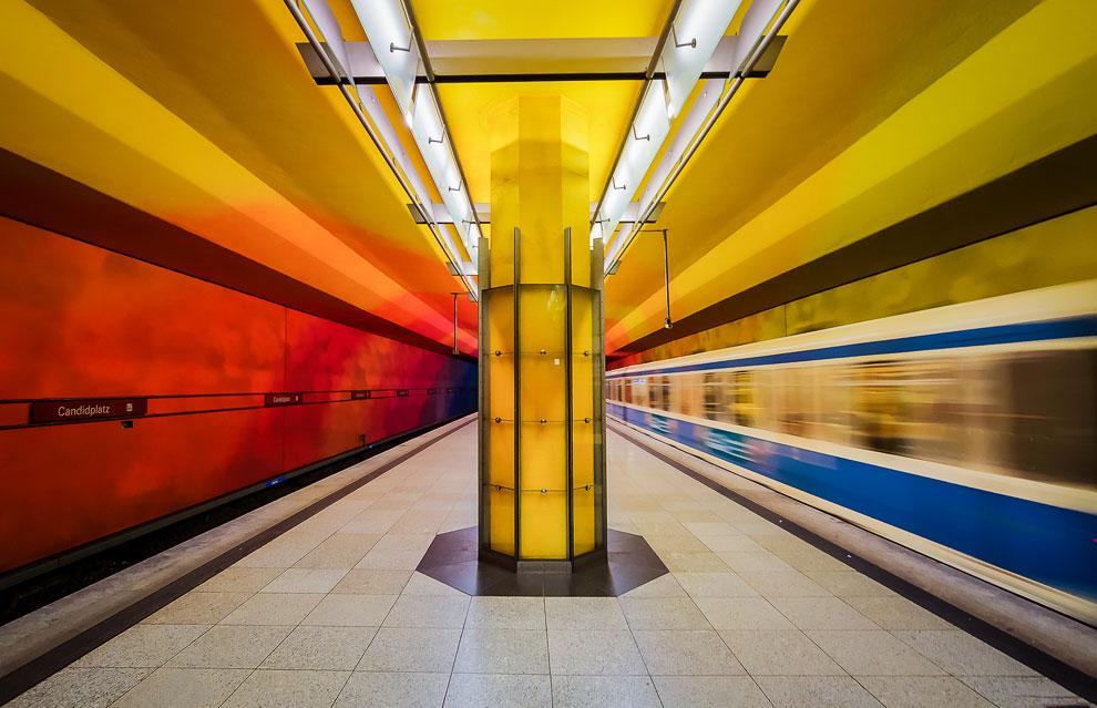 Станция Мюнхенского метрополитена «Кандидплац»