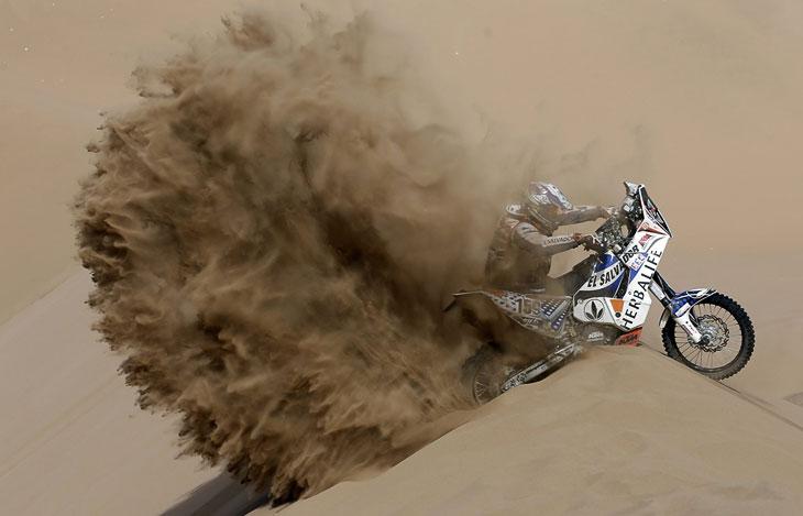 Гонки в пустыне: ралли Дакар 2013