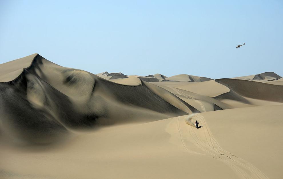 Кругом пустыня. 2 этап ралли Дакара 2013 в Писко