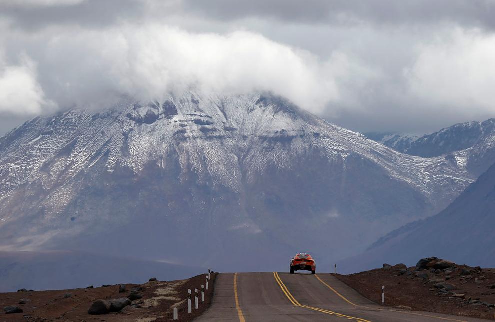 7-й этап ралли Дакар 2013: в горах Чили