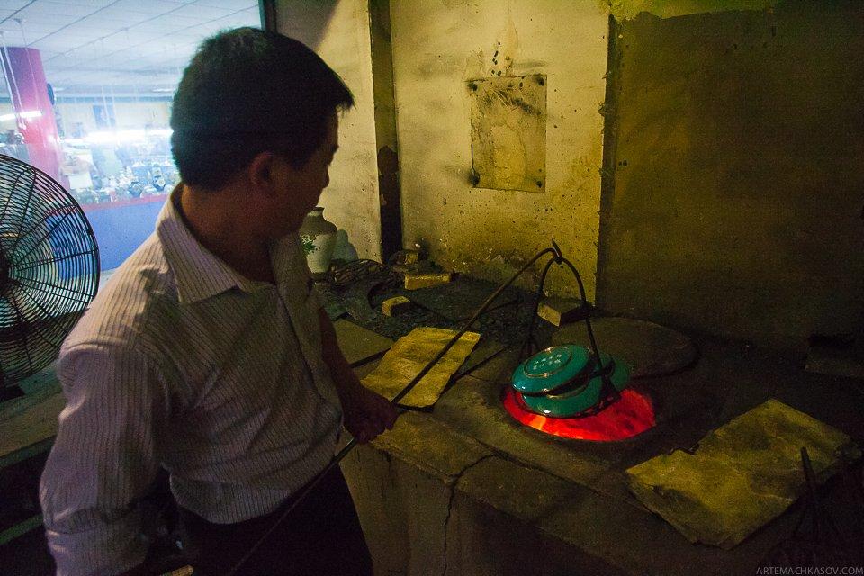 Пекинская перегородчатая эмаль