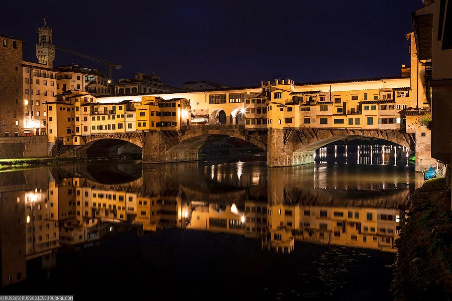 Понте-Веккьо — старейший мост во Флоренции