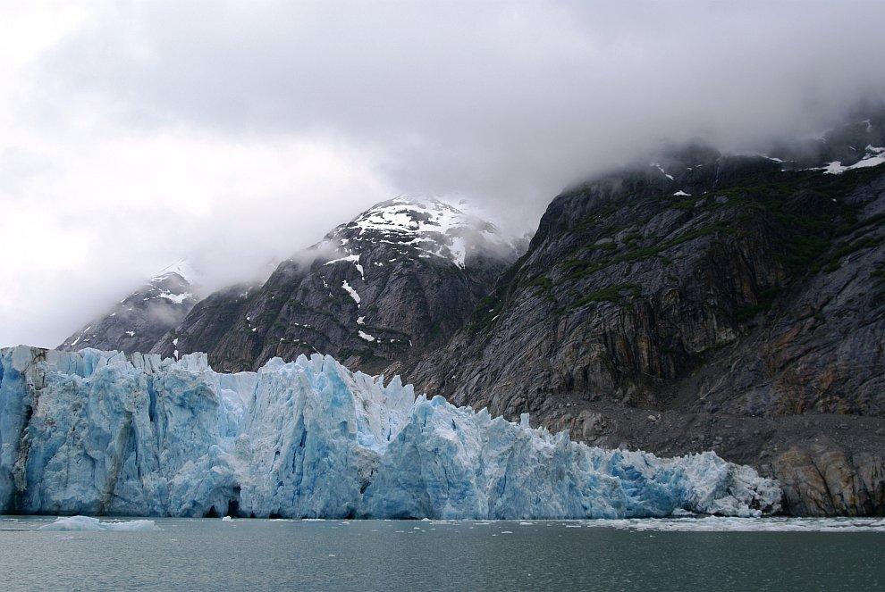13-километровый ледник Lamplugh