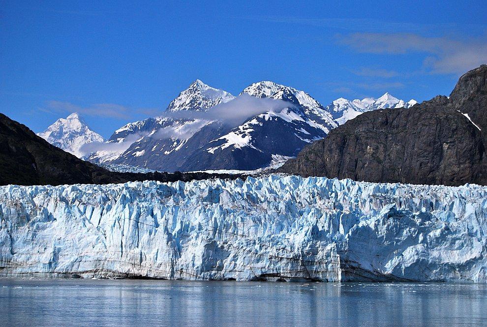 Ледник Маргери и гора Фэруэтер