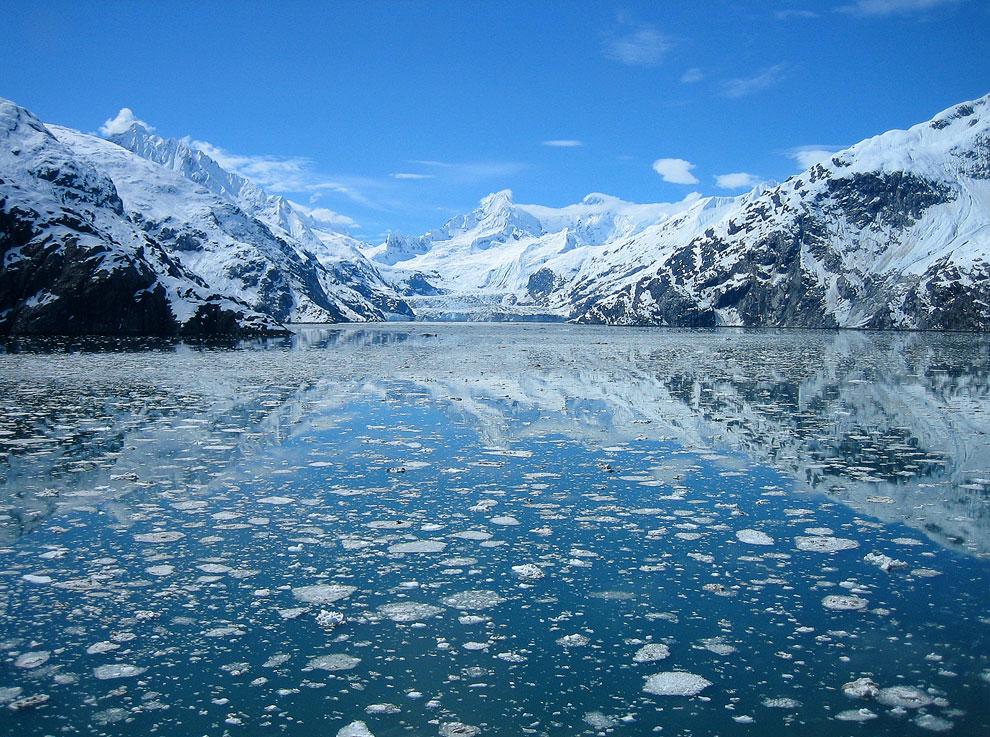 19-километровый ледник Джонса Хопкинса