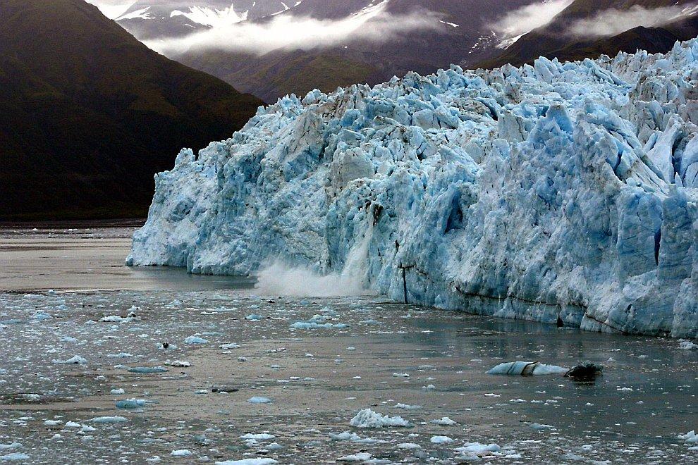 Долинный древовидный ледник Хаббард
