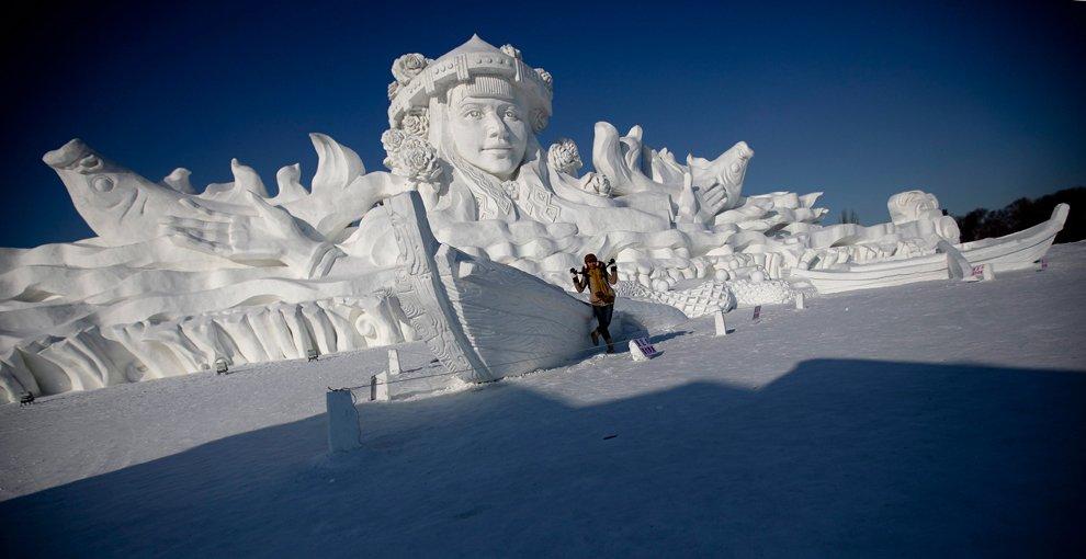Международный фестиваль ледяных скульптур в Харбине 2013