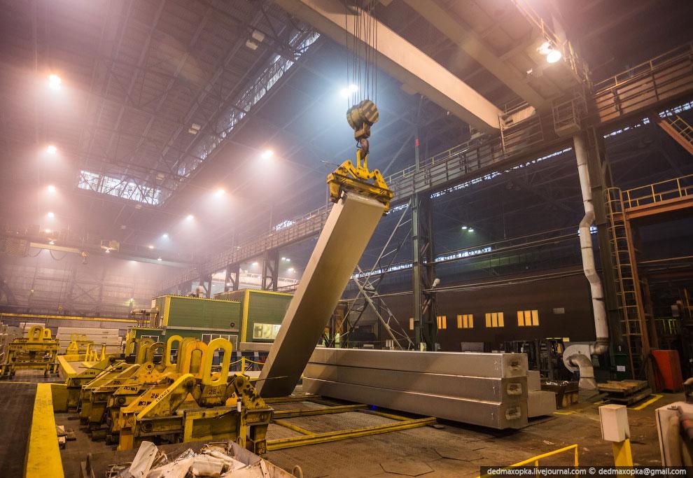 В производственный комплекс КрАЗа входит 3 литейных отделения