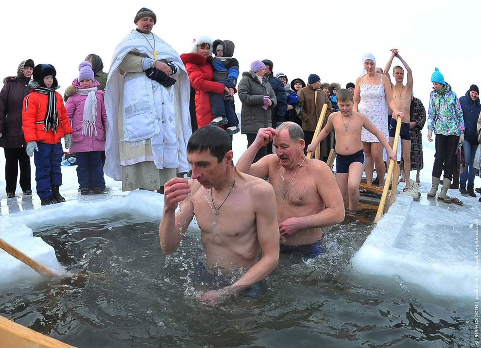Крещение в Челябинске