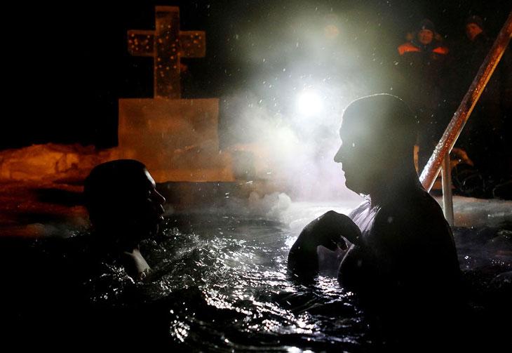 Крещенские купания 2013