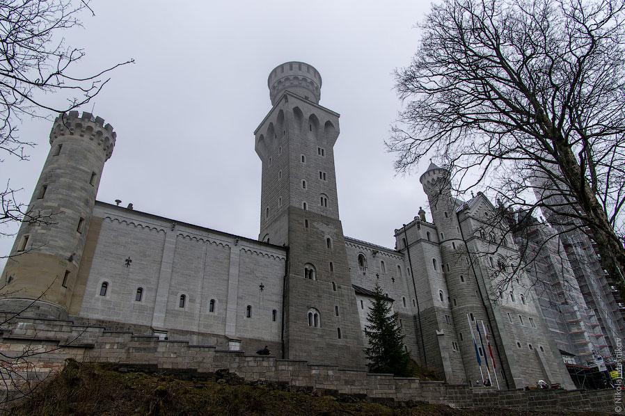 Замок Нойшванштайн в Баварии