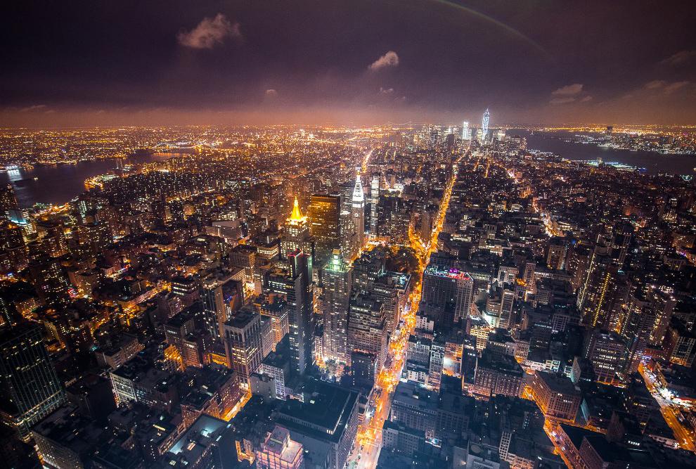 Вид на нижний Манхэттен