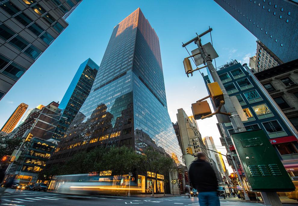 Рассвет в Нью-Йорке