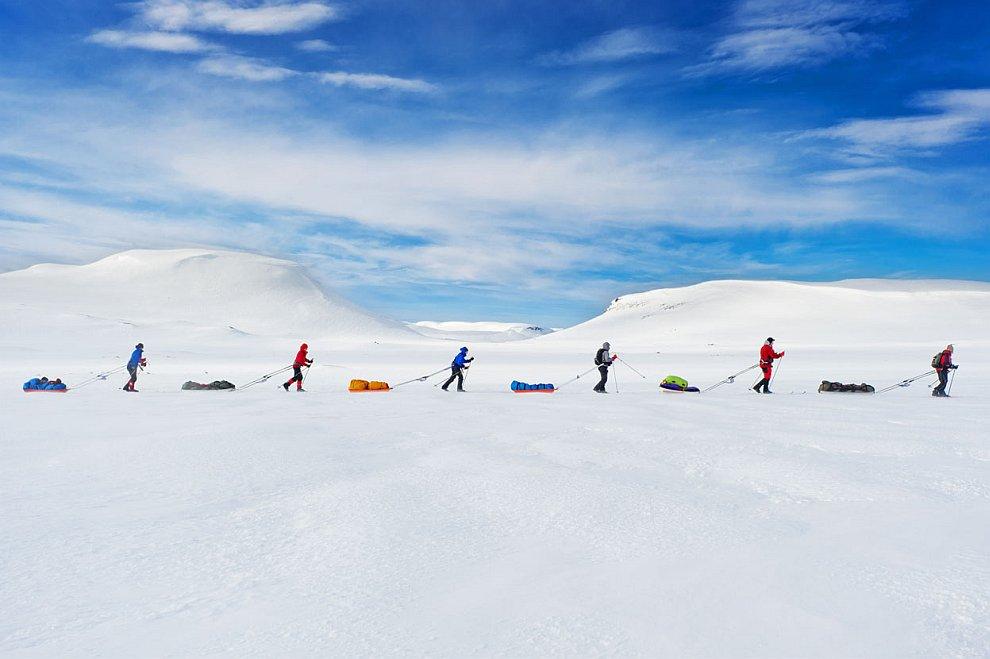 Попытка пересечь Гренландию