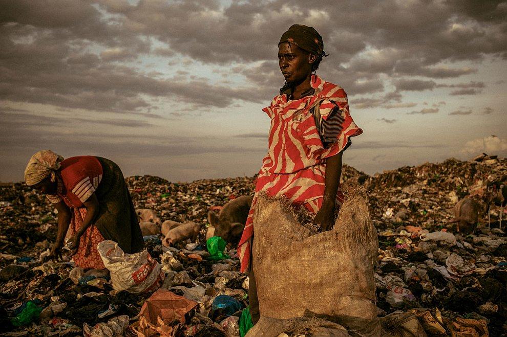 Мусорщицы из Кении