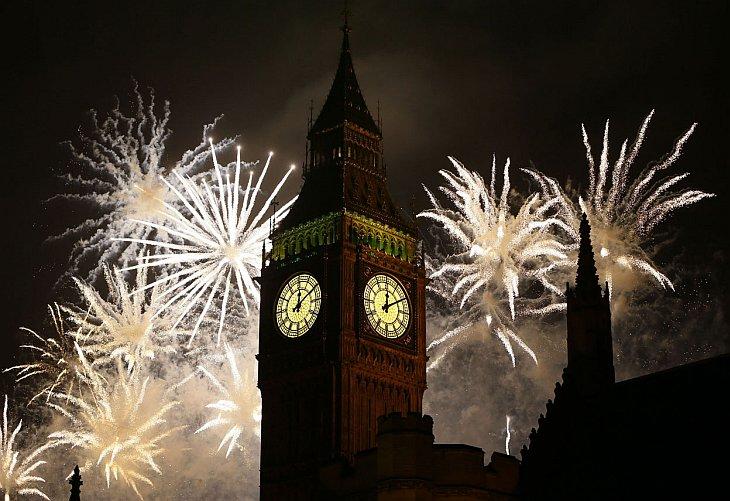 Встреча Нового года 2013 по всему миру