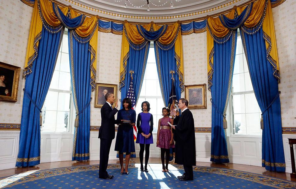 Присяга Обамы 20 января 2013