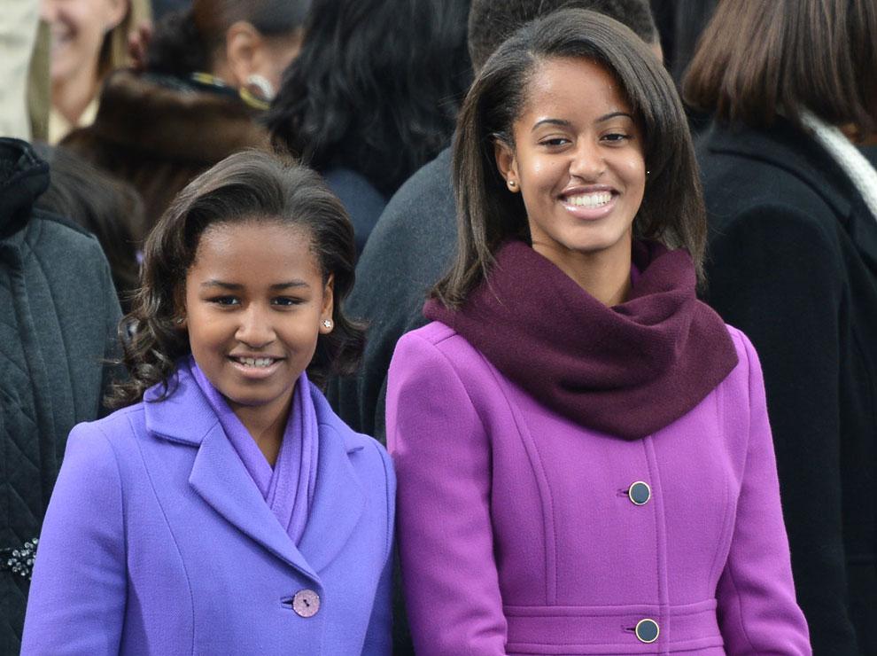Дочери Обамы Малия и Саша, Вашингтон