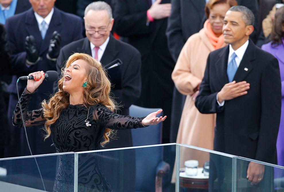 Гимн США поручили спеть певице Beyonce