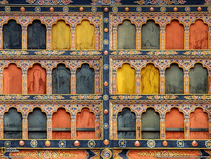 Крепость-монастырь в Бутане