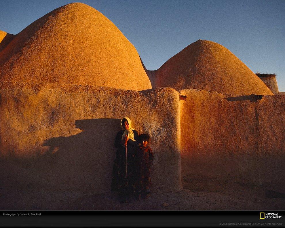 Глиняные дома-ульи