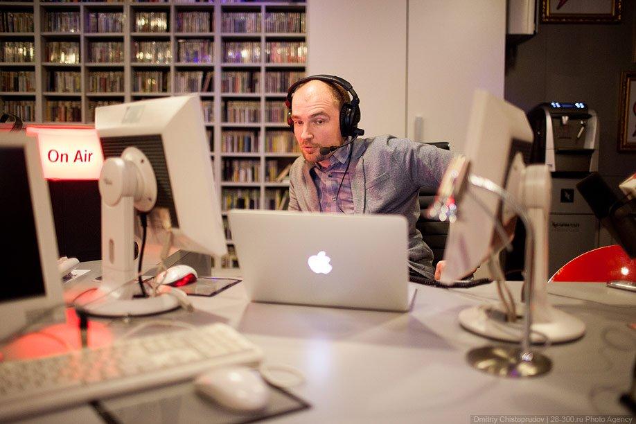 Офис радиостанции «Серебряный дождь»