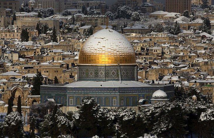 Мечеть аль-Акса, расположенная на Храмовой горе Иерусалима