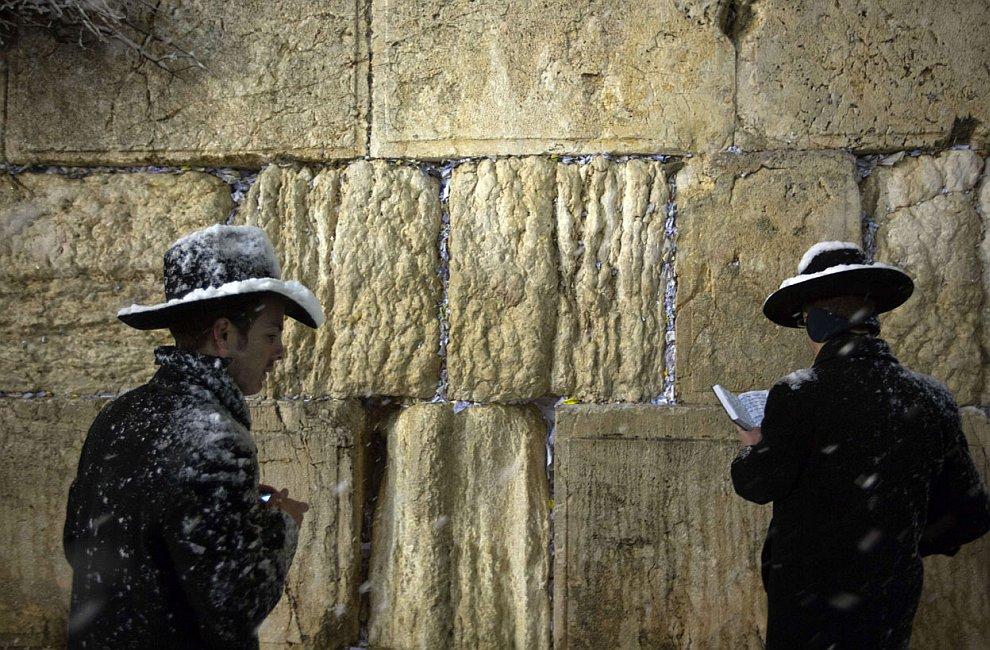 И снова Стена Плача в Иерусалиме