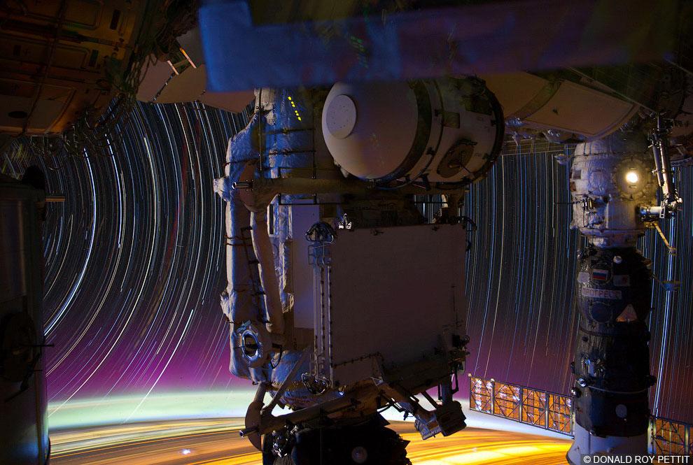Как снимают из космоса