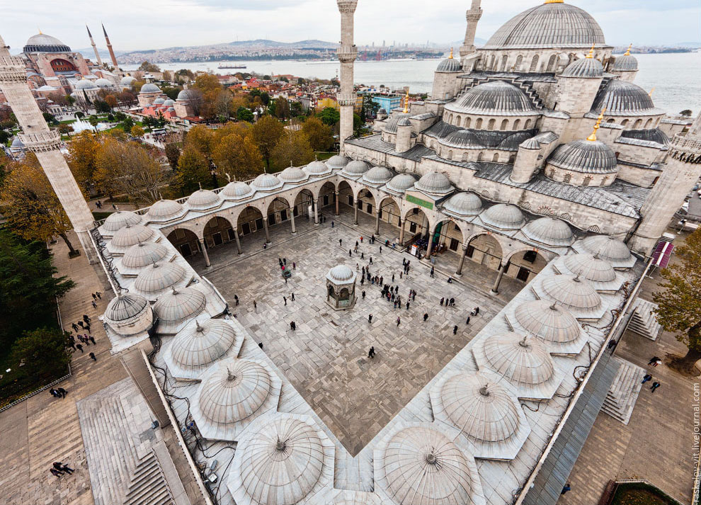 Голубая мечеть — визитная карточка Стамбула