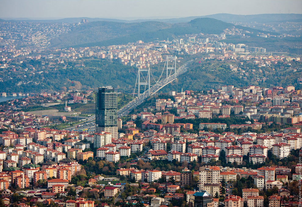 Вантовый мост Султана Мехмеда Фатиха