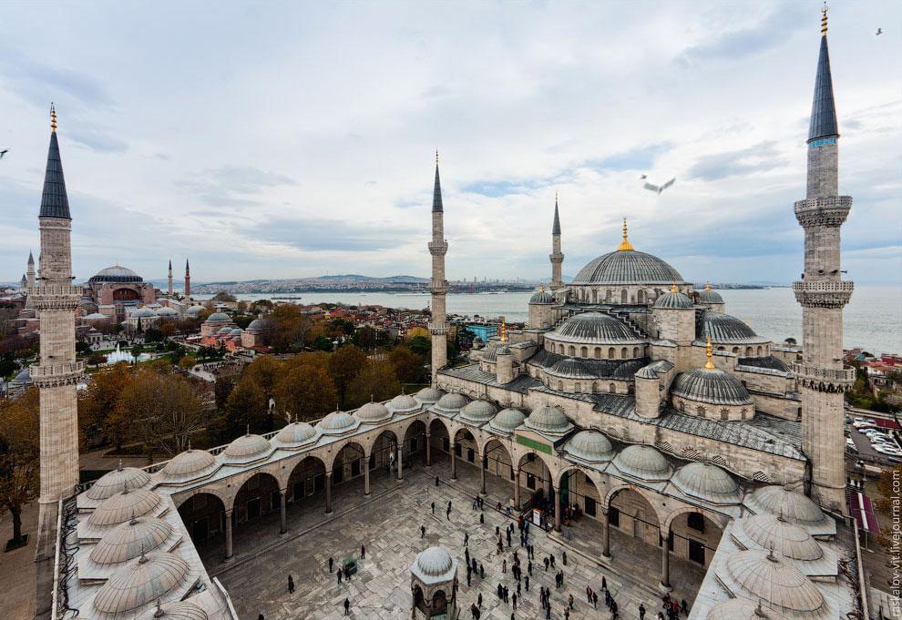 Это был Стамбул с высоты