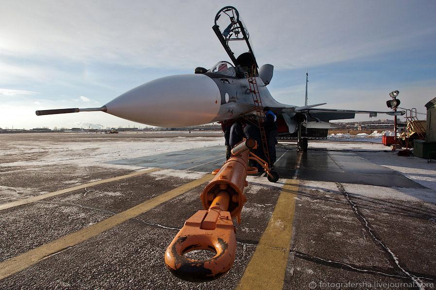Новый истребитель Су-30СМ для ВВС России