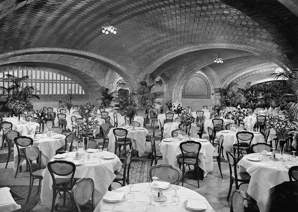 Ресторан в Центральном вокзале Нью-Йорка