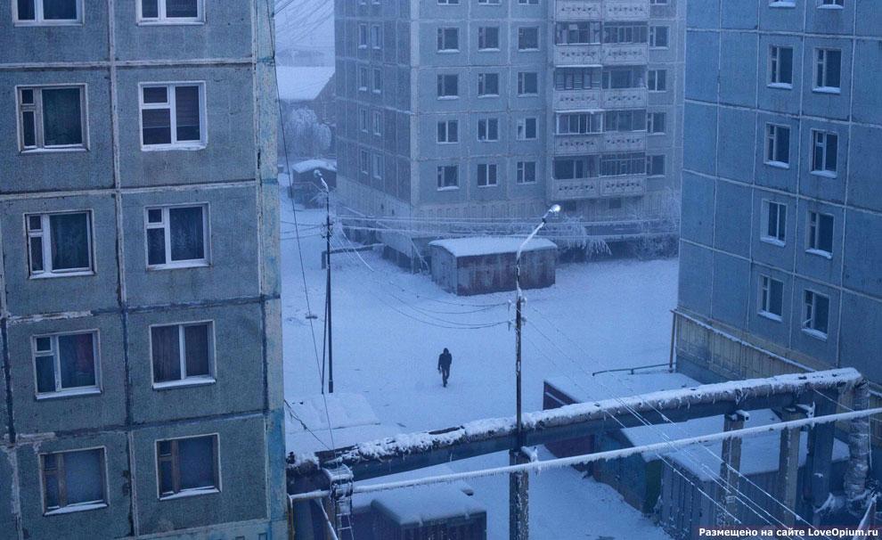 Это Якутск — столица Республики Саха (Якутия)