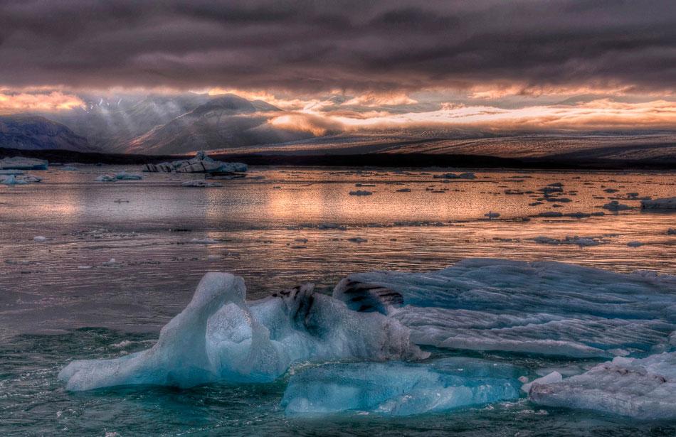Ледниковая лагуна Ёкюльсаурлоун