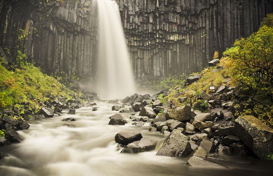 Свартифосс — чёрный водопад или тёмное падение