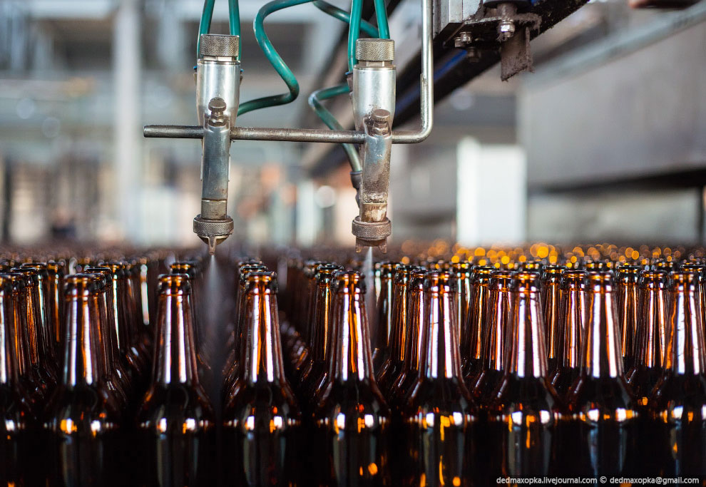 Рождение стеклянной бутылки